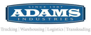 ADAMS AND SONS TRUCKING LOGO