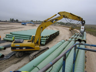Adams Transloading Pipe